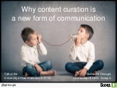 Why content curation is a new form ...