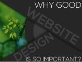 Stats: The Cost of Good/Bad Website Design