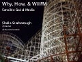 Why, How, and WIIFM - Sensible Social Media for Tourism Partners