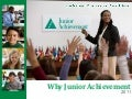 Why Junior Achievement