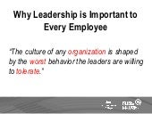 Why Leadership is Important to Every Employee