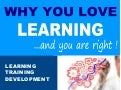 9 Reasons Why You Love Learning