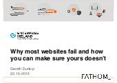 Why most websites fail and how you can make sure yours doesn't | Gareth Dunlop | Fathom