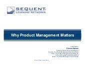 Why Product Management Matters