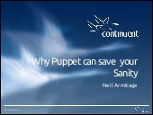 Why puppet can save your sanity