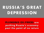 Why Russia Is Headed Toward a Great Depression