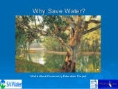 Why Save Water