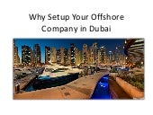 Why setup your offshore company in dubai