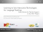 Learning to Use Interactive Technol...