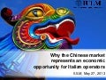 Why the Chinese market represents an economic opportunity for Italian operators_Professor A. Morrison