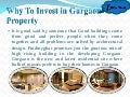 Why to invest in gurgaon property