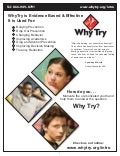 WhyTry:  Evidence Based & Effective