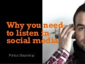 The Importance of Listening in Social Media
