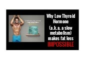 Why Your Thyroid is Making Fat Loss IMPOSSIBLE