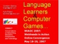 Wiaoc2007 Games May 2007