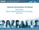 German Universities Go Global
