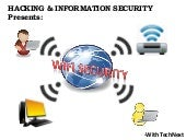 WiFi Secuiry: Attack & Defence
