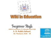 Wiki In Education