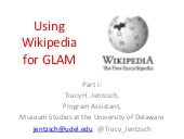 Wikipedia for GLAMS_by_jentzsch_&_o...