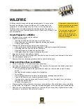 Wildfire Fact Sheet