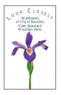 Gardening with Native Plants - Boulder, Colorado