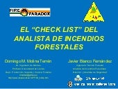 El Check List del Analista de Incen...