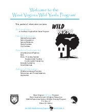 Welcome to the West Virginia Wild Y...