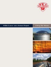 Willbros HSE&S 2010-2011 Annual Report