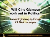 Will cine glamour work out in politics