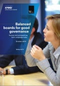 Balanced boards for good governance - Survey & perspectives from corporate India