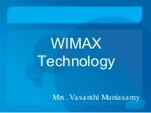 Wi MAX Technology