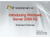 Win08 R2 It Pro Overview