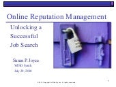 Online Reputation Management for Jo...