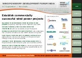 Wind Power Development Forum India ...
