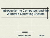 Windows Operating System1