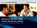 Windows Server 2008 Active Directory Guide