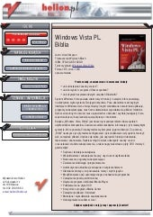 Windows Vista PL. Biblia
