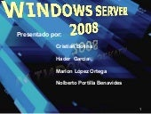 PRESENTACION  Windows server 2008