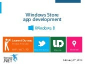 Windows Store apps development