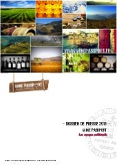 Wine passport, créateur de week-end...