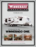 2012 Winnebago One Travel Trailer