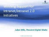 Winning Support For Your Intranet /...