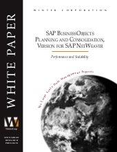 SAP Business Objects Planning and C...