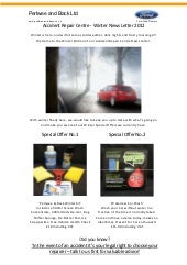Winter News Letter 2012