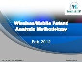 Wireless/Mobile Patent Analysis Me...