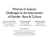 Women in Science: Challenges at the...