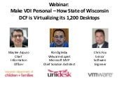VMware & Unidesk Customer Webinar: ...