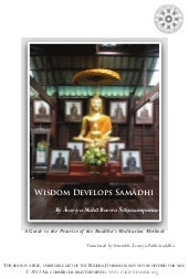 Wisdom develops samadhi-A Guide to ...