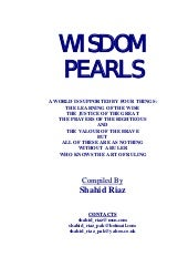 Wisdom Pearls Short Inspiring Stories