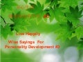 Wise sayings for happy living / 静思语使你开心生活 (In English & Chinese)#3/9